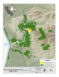 ESF Protected Lands and Sand Hill Farm